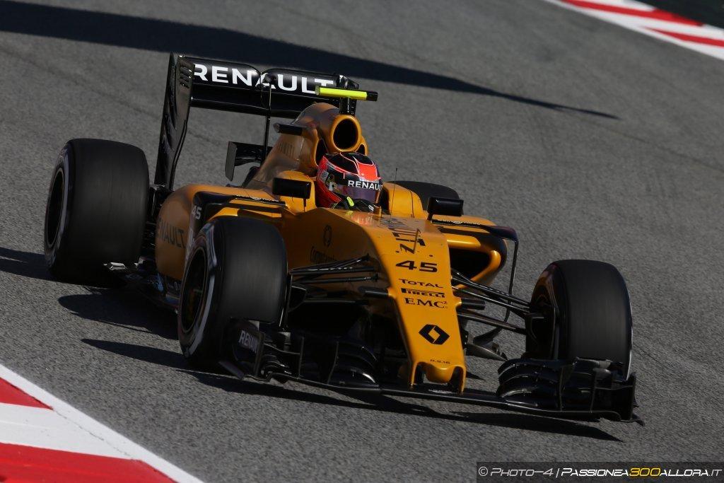 GP Spagna 2016 | Ocon, Renault
