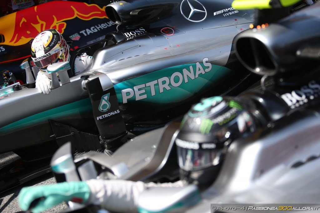 GP Spagna 2016 | Hamilton, Rosberg, Mercedes
