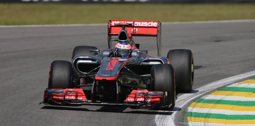 Libere 3 ad Interlagos: Button al comando