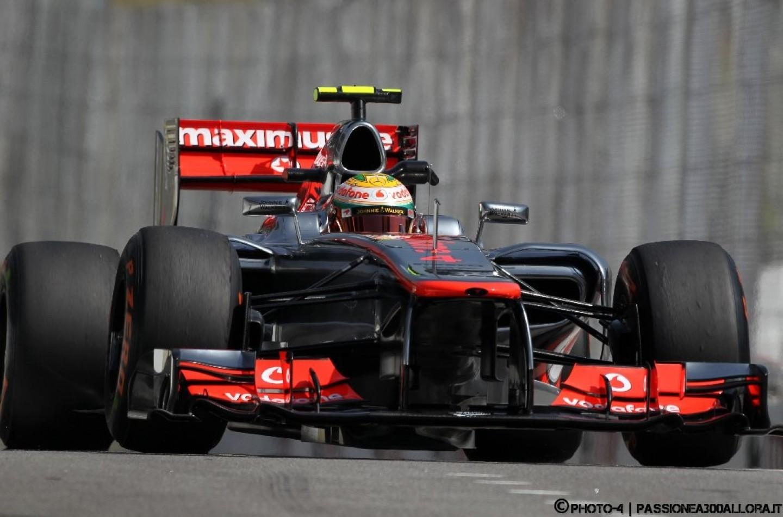Qualifiche ad Interlagos: Hamilton in Pole davanti a Button e Webber