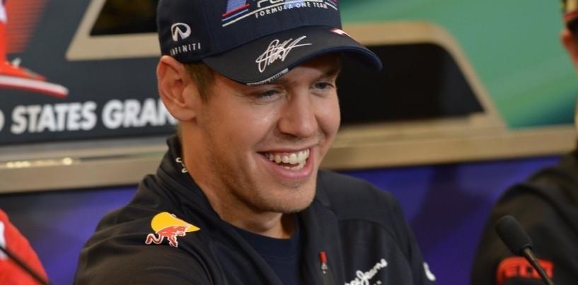 Libere 1 ad Austin, subito in testa Vettel