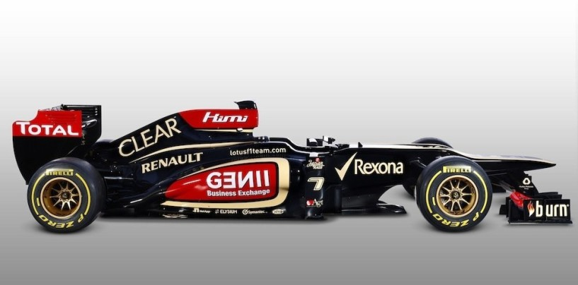 Ecco la Lotus E21. Svelata la prima monoposto del 2013