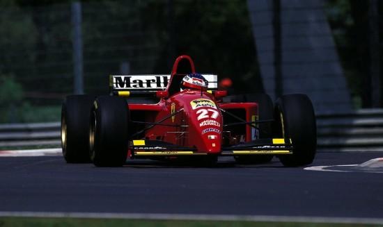 Alesì sull'ultima Ferrari con il numero 27