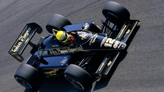 La Lotus n°12 di Ayrton
