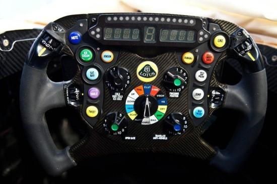 Il volante della E21..Kimi mode.