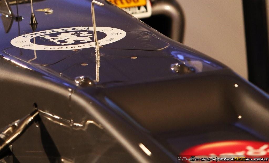 Il 'Vanity Panel' utilizzato dalla Sauber