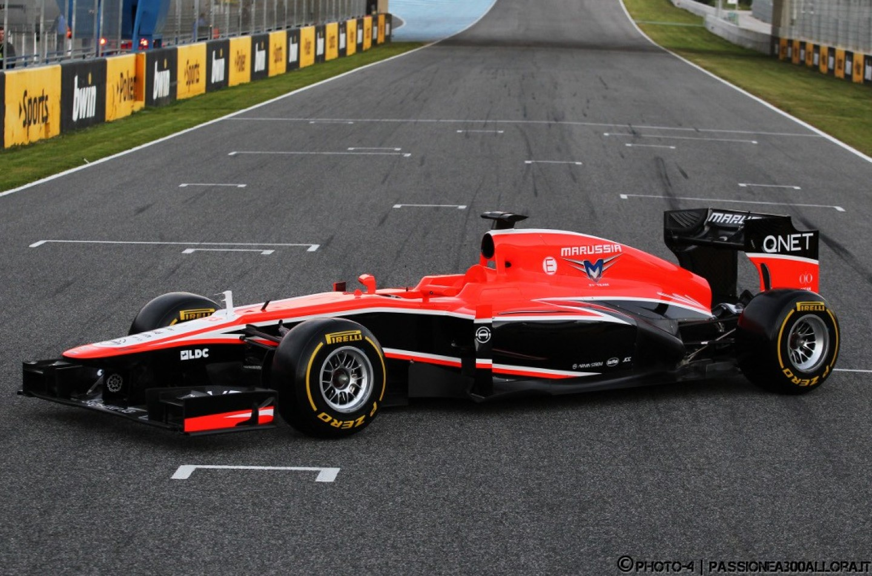 Marussia MR02 svelata a Jerez