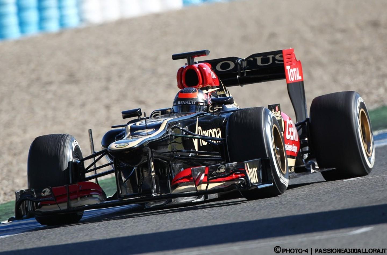 Jerez, test day 4: Lotus ok, Mercedes stakanovista