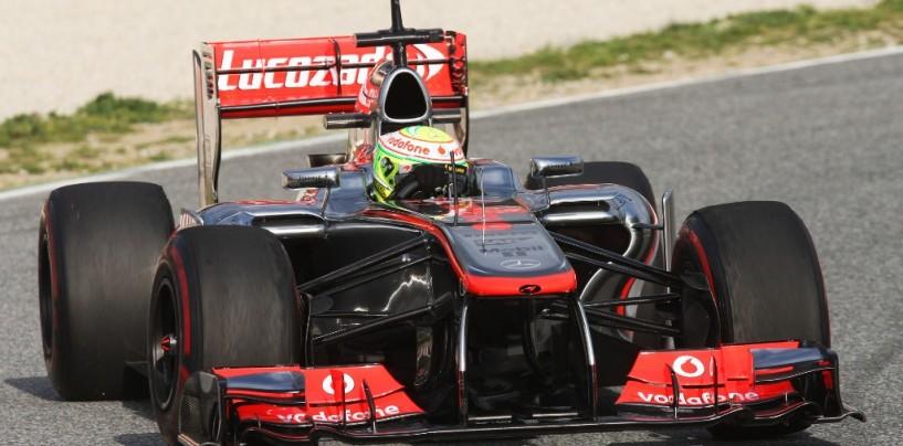 Barcellona, test day 2: Perez al comando