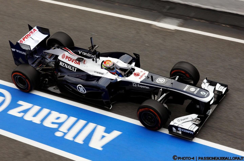 Williams-Renault FW35, svelata l'ultima monoposto 2013