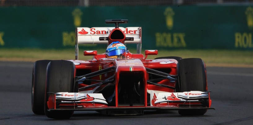 Australia 2013: Ferrari, inizio promettente