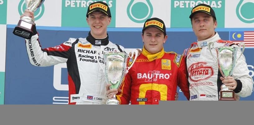 GP2, Sepang: Fabio Leimer vince la gara di apertura a Sepang