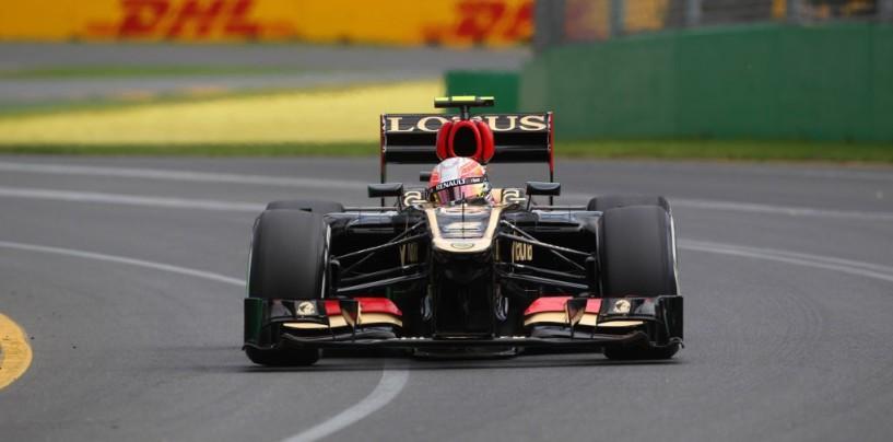 Libere 3 a Melbourne: primo Grosjean, pioggia protagonista