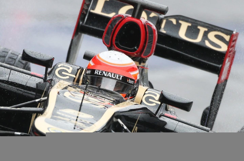 Barcellona, Test 3, D2: Grosjean guida il gruppo, ancora pioggia e freddo