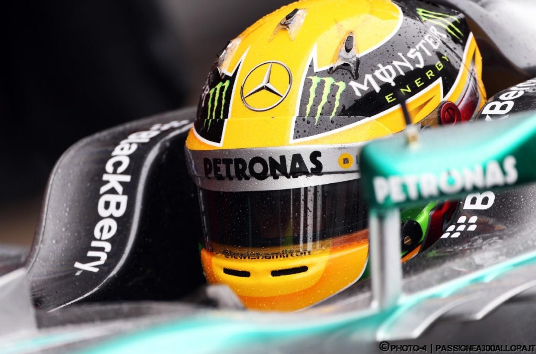 Barcellona, Test 3, D3: Hamilton al top, problemi per Massa nel finale