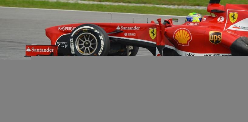 Malesia 2013: Ferrari, premesse ottime, ali spezzate