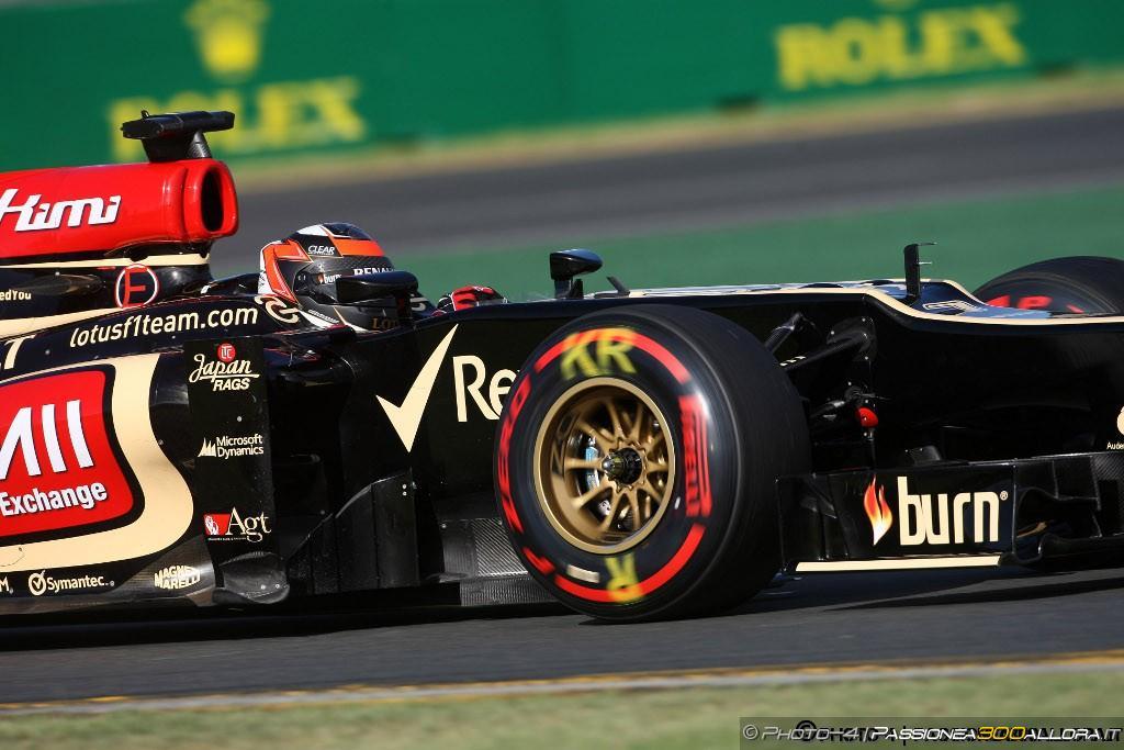 Kimi Raikkonen vince il GP d'Australia 2013
