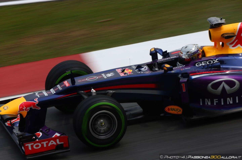 Libere 3 a Sepang: Vettel al comando