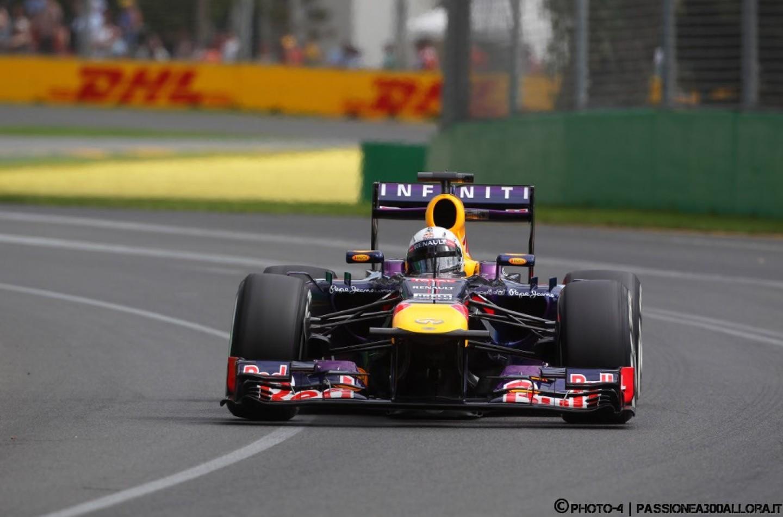 Libere 2 a Melbourne, davanti il duo Red Bull