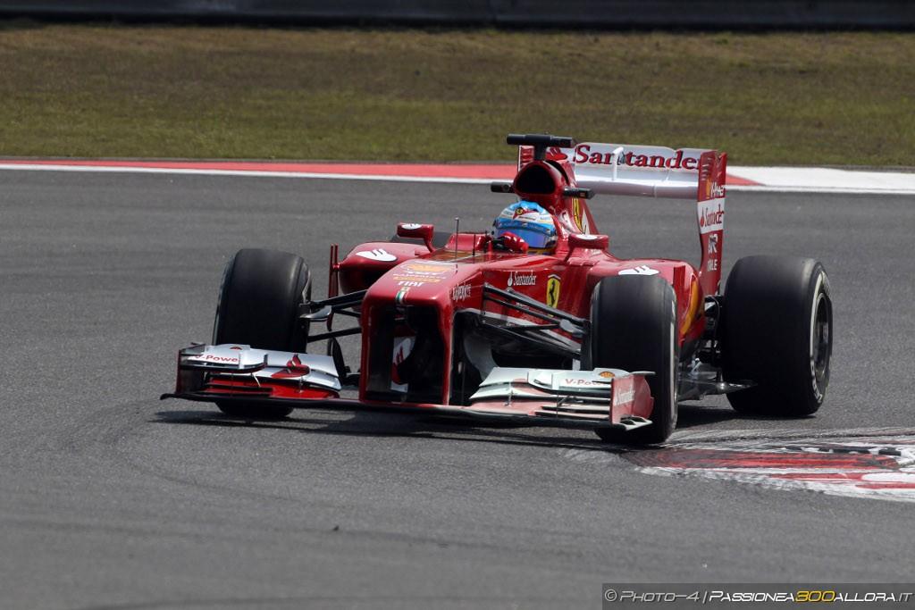 Libere 3 a Shanghai: Alonso al top