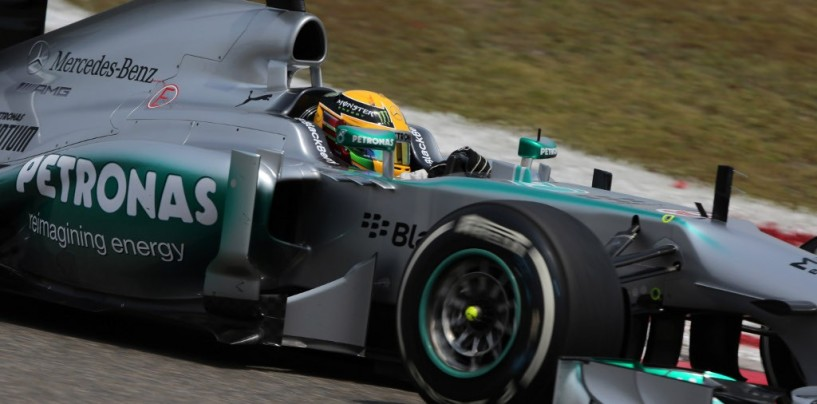 Qualifiche Gp Cina 2013: Lewis Hamilton in Pole Position