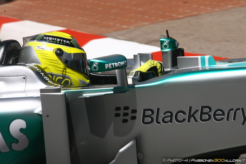 Qualifiche GP Monaco: Rosberg in Pole davanti a Hamilton e Vettel