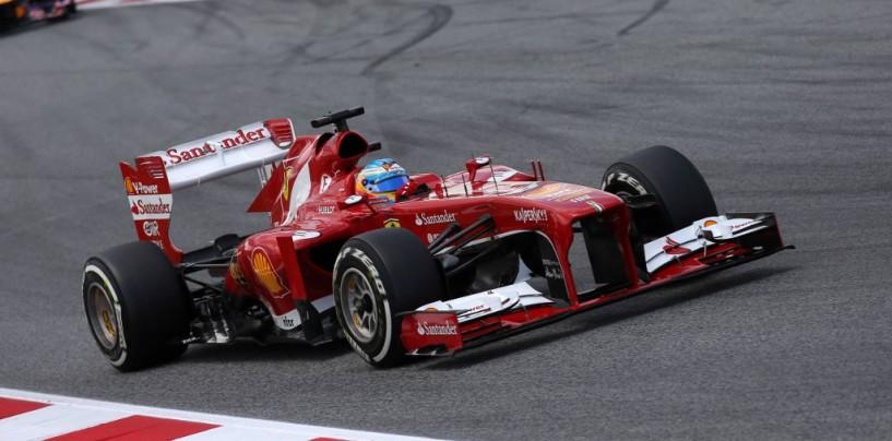 Fernando Alonso vince il GP di Spagna 2013 davanti a Raikkonen e Massa