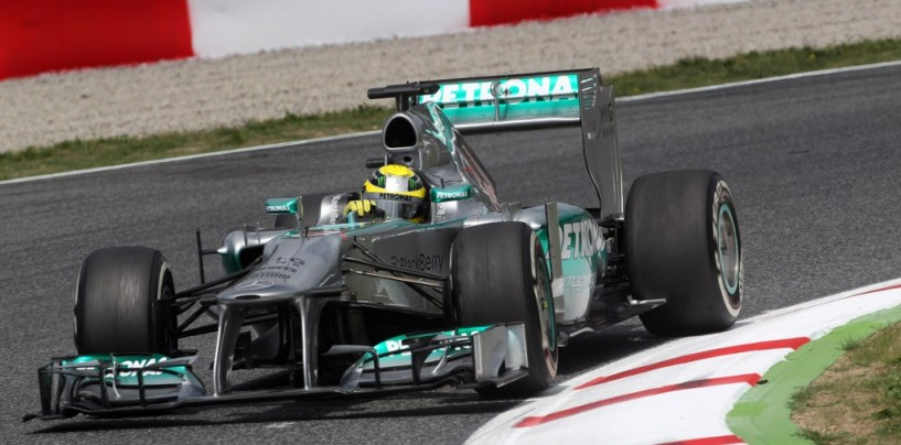 Qualifiche Gp di Spagna: Rosberg in pole davanti a Hamilton