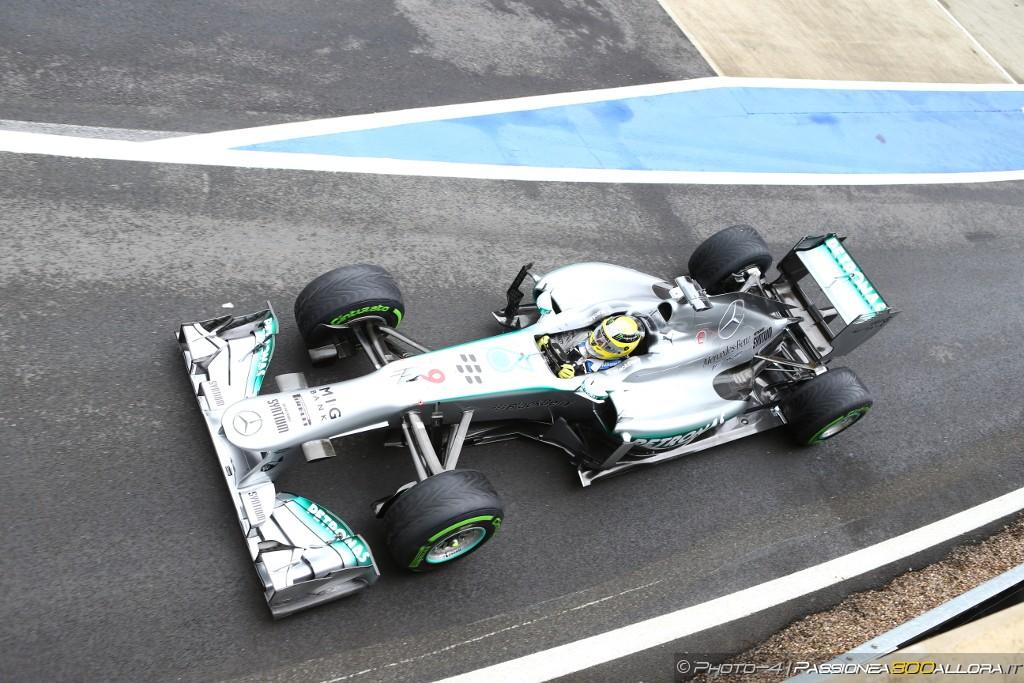 Libere 3 a Silverstone: le Mercedes al comando
