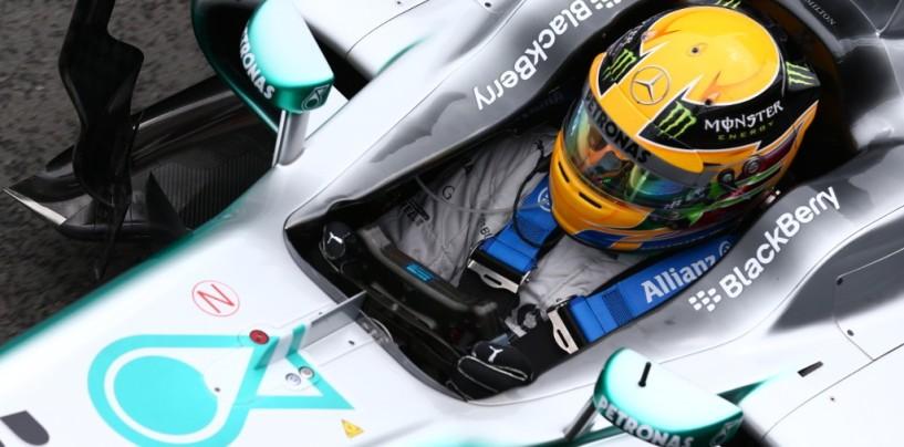 Lewis Hamilton conquista la Pole del GP di Gran Bretagna 2013