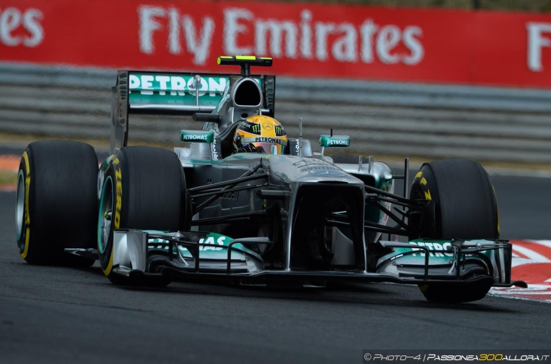 Lewis Hamilton vince il GP d'Ungheria 2013 davanti a Raikkonen e Vettel