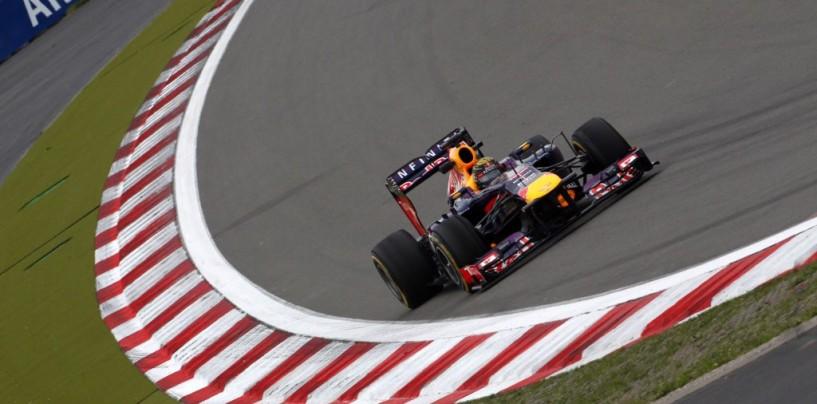 Libere 3 al Nurburgring: Vettel ipoteca la pole