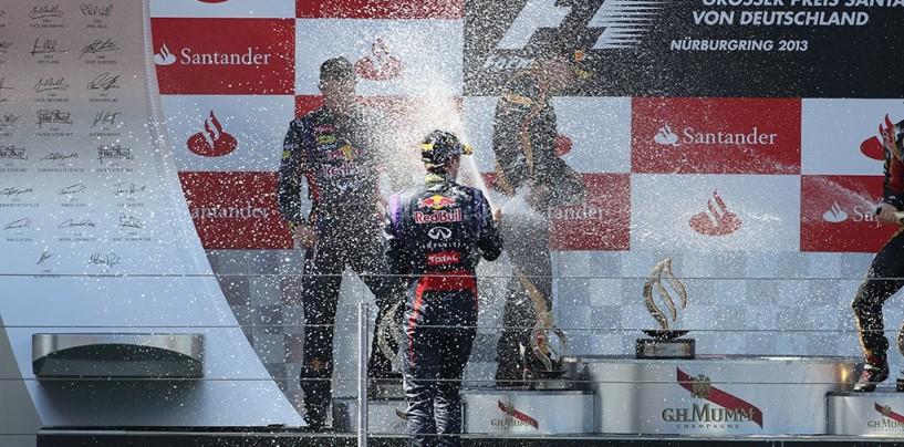 Pagelle del Gran Premio di Germania 2013