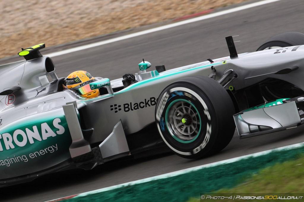 Lewis Hamilton conquista la Pole del Gp di Germania 2013
