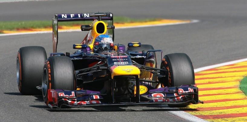 Sebastian Vettel vince il Gp del Belgio 2013 davanti ad Alonso e Hamilton