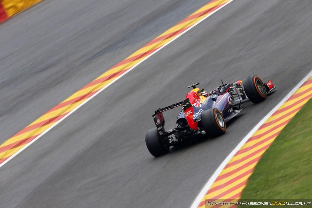 Libere 3 a Spa: Vettel ancora davanti a tutti
