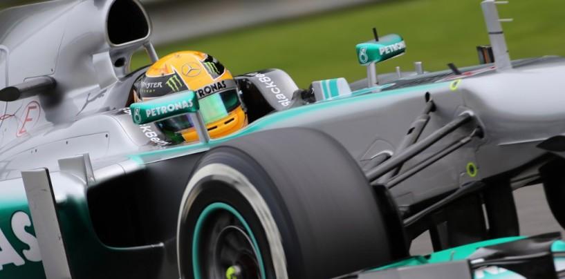 Lewis Hamilton in Pole nel Gp del Belgio 2013