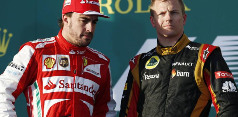 Kimi e Fernando insieme in Ferrari. Acciderbolina!