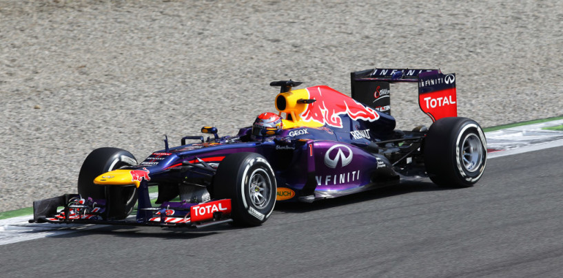 Sebastian Vettel vince il GP d'Italia 2013 davanti ad Alonso e Webber
