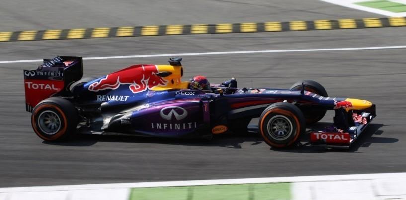 Libere 2 a Monza: dominio Red Bull