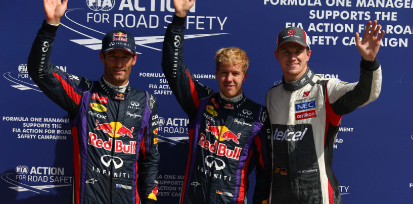 Sebastian Vettel in Pole nel GP d'Italia 2013