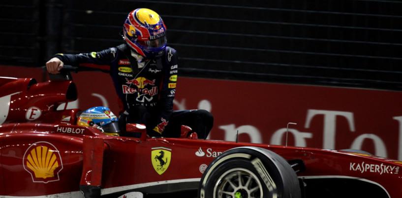 Le 10 Pillole del GP di Singapore 2013