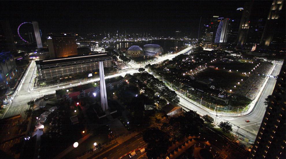 Gran Premio di Singapore 2014: la griglia di partenza