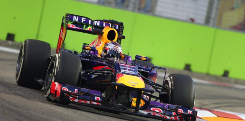 Vettel domina il GP di Singapore 2013 e chiude i giochi Mondiali