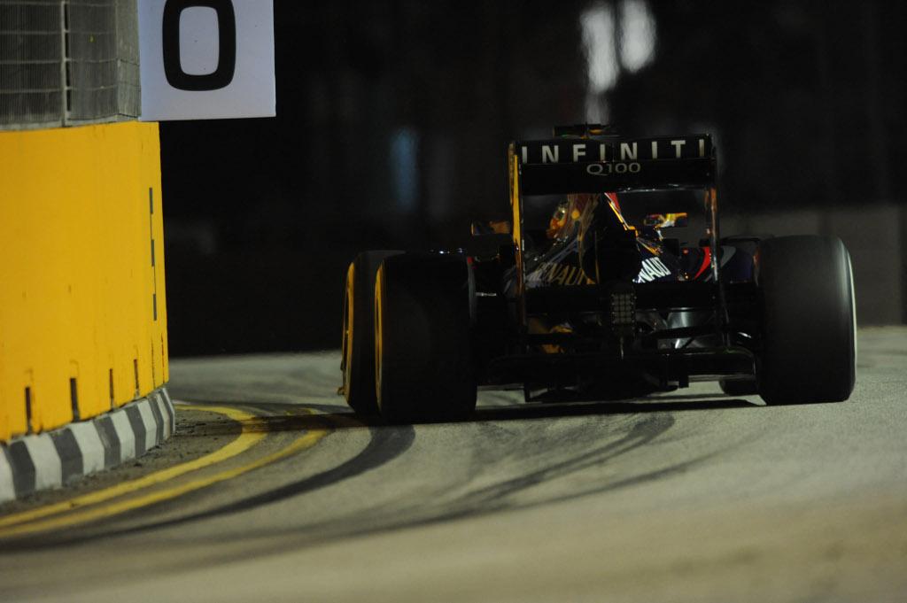 Libere 3 a Singapore: ancora Vettel davanti a tutti