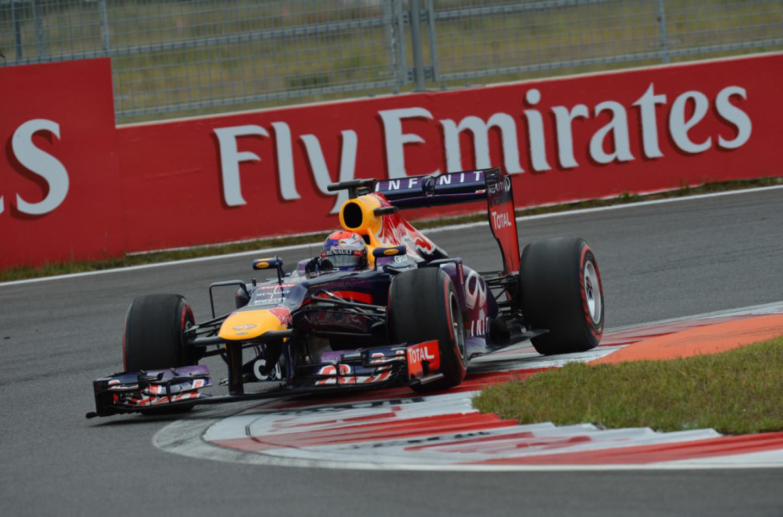 Sebastian Vettel vince il Gp di Corea 2013 davanti a Raikkonen e Grosjean