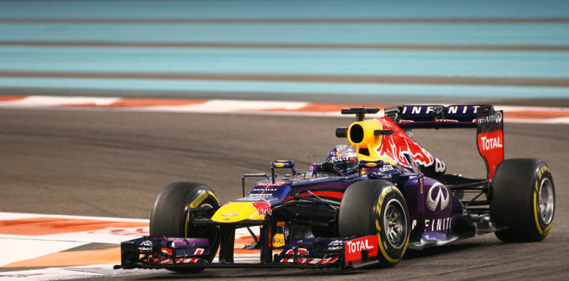 Libere 3 ad Abu Dhabi. Vettel al top, difficoltà Ferrari