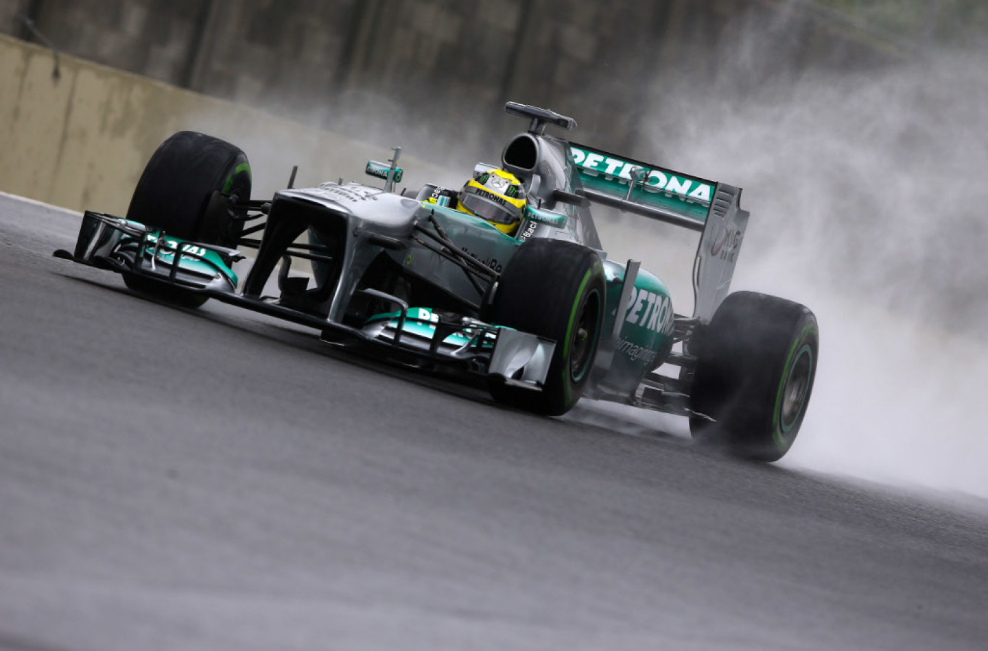 Libere 2 ad Interlagos: ancora Rosberg davanti a tutti