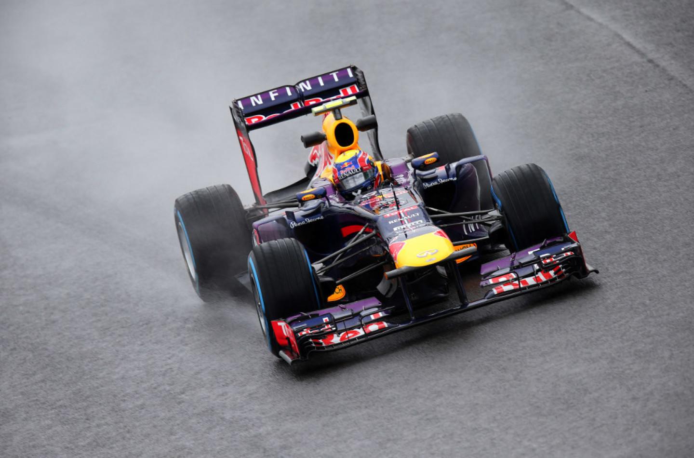 Libere 3 ad Interlagos: ancora pioggia (e Webber)