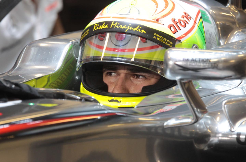 Sergio Perez lascia la Mclaren a fine 2013